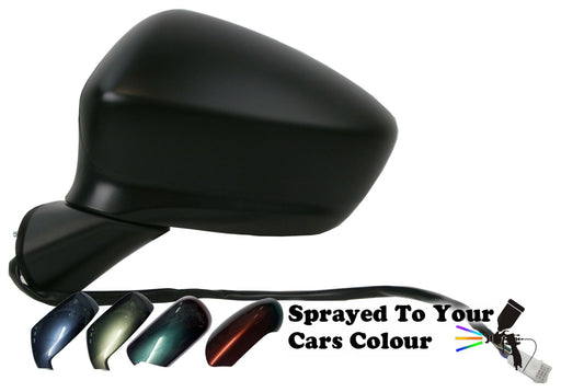 Mazda CX-5 2012-6/2015 Wing Mirror Power Folding Passenger Side Painted Sprayed