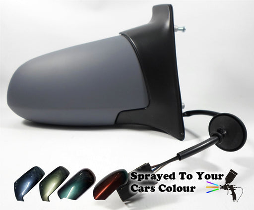 Vauxhall Zafira Mk.1 1999-2005 Electric Wing Mirror Drivers Side O/S Painted Sprayed