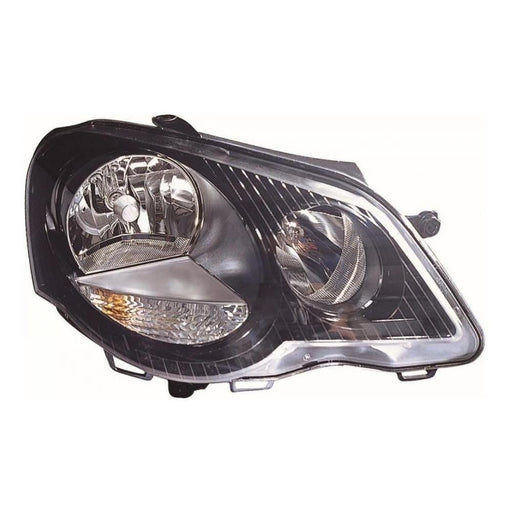 VW Polo Mk4 Gti 9N3 Hatchback 6/2005-3/2010 Headlight Headlamp Drivers Side O/S