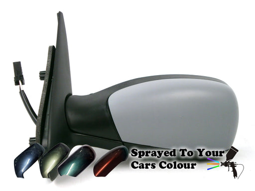 Peugeot 306 1993-2002 Electric Wing Mirror Heated Passenger Side N/S Painted Sprayed