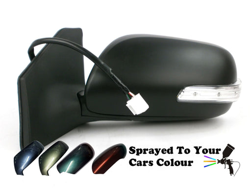 Toyota Avensis 7/2006-6/09 Electric Wing Mirror Indicator Passenger Side Painted Sprayed