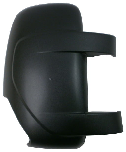 Renault Master Mk3 3/2010+ Black Textured Wing Mirror Cover Driver Side O/S
