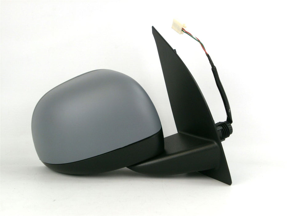 Fiat Panda Mk.2 9/2009-6/2012 Electric Wing Mirror Primed Drivers Side O/S