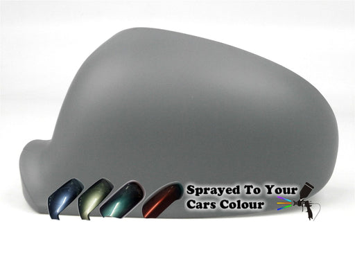 Volkswagen Sharan Mk.2 11/2004-2010 Wing Mirror Cover Passenger Side N/S Painted Sprayed