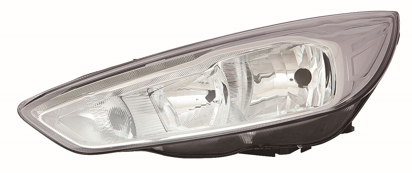 Ford Focus Hatch 10/2014+ Chrome Inner Headlight Lamp Inc DRL Passenger Side N/S