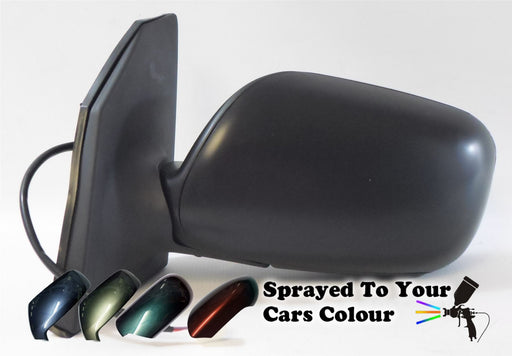 Toyota Corolla Mk5 2002-9/2004 Electric Wing Mirror 3 Pin Passenger Side Painted Sprayed