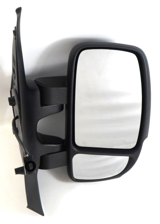 Renault Master 3/2010+ Short Arm Wing Mirror Electric 16w Bulb Drivers Side O/S