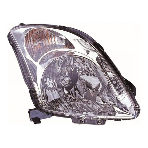 Suzuki Swift Mk3 Hatch 4/2005-2010 Chrome Surround Headlight Drivers Side O/S