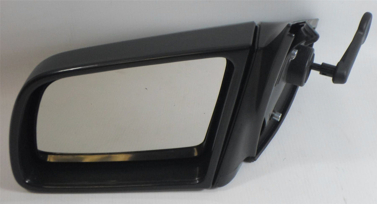 Vauxhall Cavalier 1988-1995 Lever Adjust Wing Door Mirror Grey Passenger Side