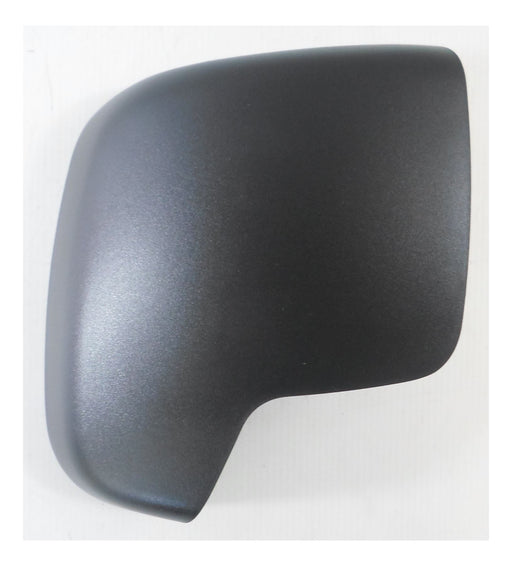 Fiat Qubo 2008+ Black - Textured Wing Mirror Cover Driver Side O/S