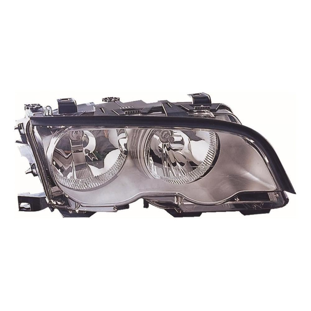 BMW 3 Series E46 2 Door Coupe 1998-2001 Chrome Inner Headlight Drivers Side O/S