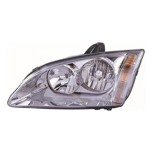 Ford Focus Mk2 Saloon 2005-5/2008 Chrome Inner Headlight Lamp Passenger Side N/S