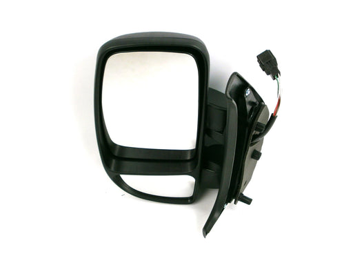 Renault Master 10/2003-2010 Short Arm Wing Mirror Electric Black Passenger Side