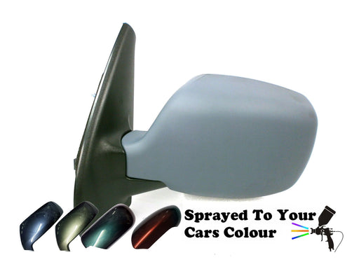 Nissan Kubistar 2003-2009 Electric Wing Mirror Heated Passenger Side N/S Painted Sprayed