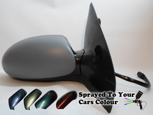 Ford Focus Mk.1 1998-4/2005 Electric Wing Mirror Heated Drivers Side O/S Painted Sprayed