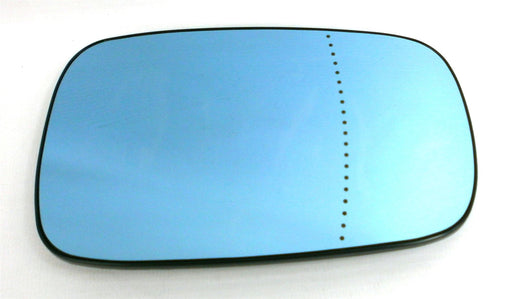 Renault Laguna Mk.2 2/2001-2007 Heated Blue Wing Mirror Glass Drivers Side O/S