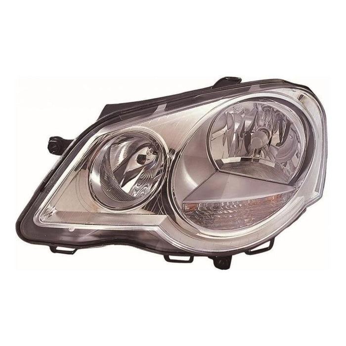 VW Polo Mk4 9N3 Hatchback 6/2005-3/2010 Headlight Headlamp Passenger Side N/S