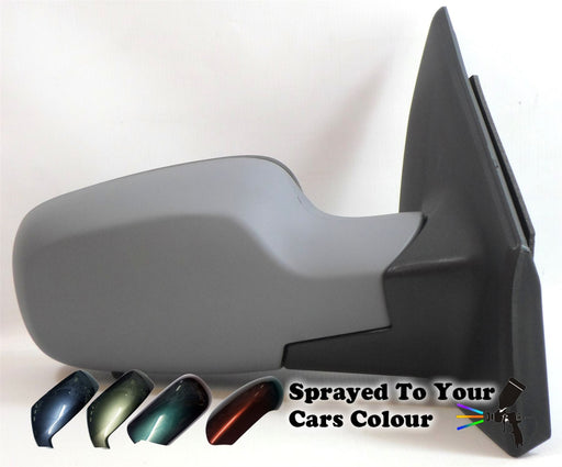 Renault Clio 10/2005-9/2009 Electric Wing Mirror Temp Sensor Driver Side Painted Sprayed