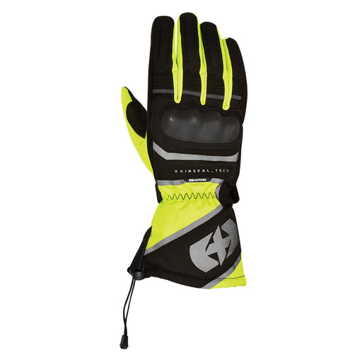 Oxford Men's Montreal 1.0 Gloves Black & Fluorescent