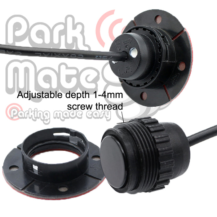 UNIVERSAL AUDIO BUZZER FLUSH FIT FRONT PARKING SENSORS PARK MATE PM320