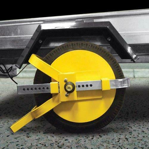 Universal Fit Security Anti Theft Wheel Tyre Lock Trailer Caravan Motor Home 8-10 SWWL4
