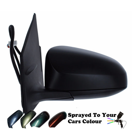 Peugeot 108 4/2014+ Electric Wing Door Mirror Heated Passenger Side N/S Painted Sprayed