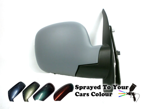 Renault Kangoo 9/08-6/2013 Electric Wing Mirror Temp Sensor Drivers Side Painted Sprayed