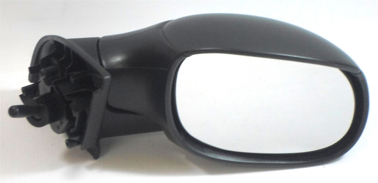 Citroen C3 Mk.1 2002-5/2010 Manual Cable Wing Door Mirror Black Drivers Side O/S