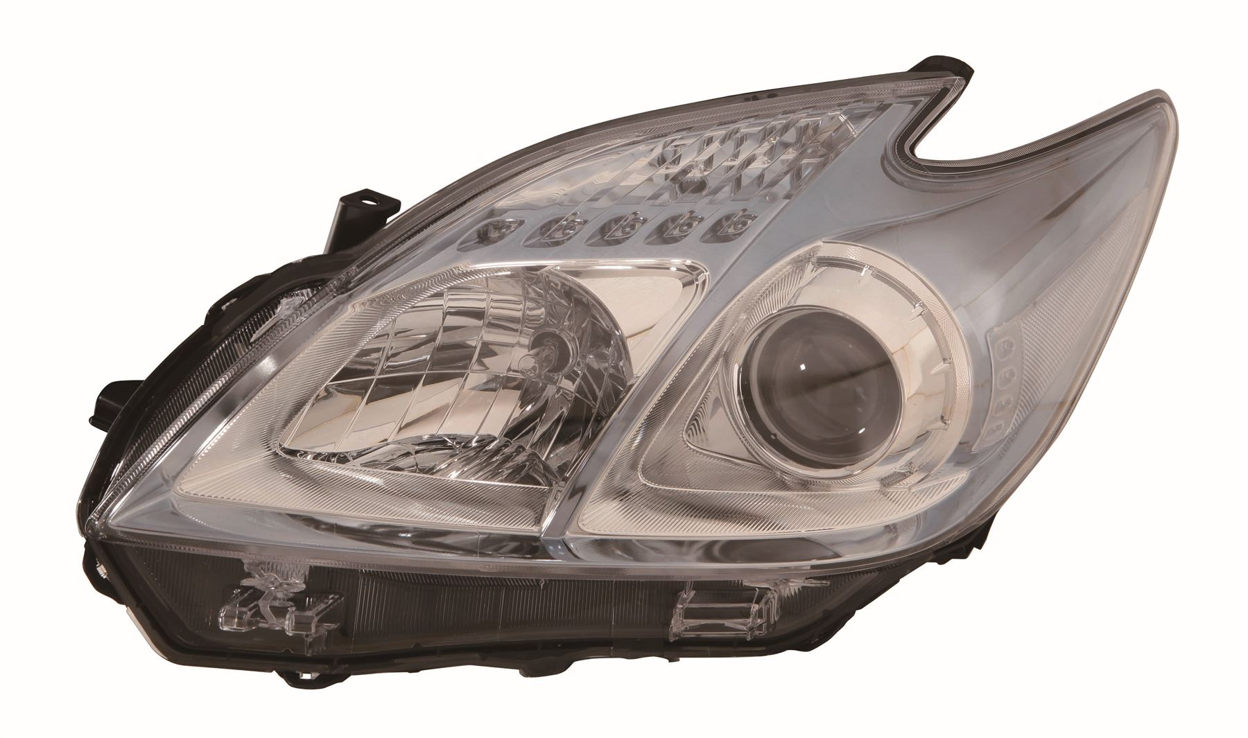 Toyota Prius ZVW30 Hatch 4/12-6/16 Light Blue Tint Headlight Passenger Side N/S