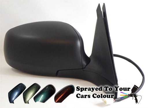 Suzuki Swift Mk.3 4/2005-6/2008 Electric Wing Mirror Drivers Side O/S Painted Sprayed
