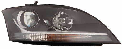 Audi TT Mk2 8J Coupe 9/2006-12/2011 Headlight With Chrome Trim Drivers Side O/S