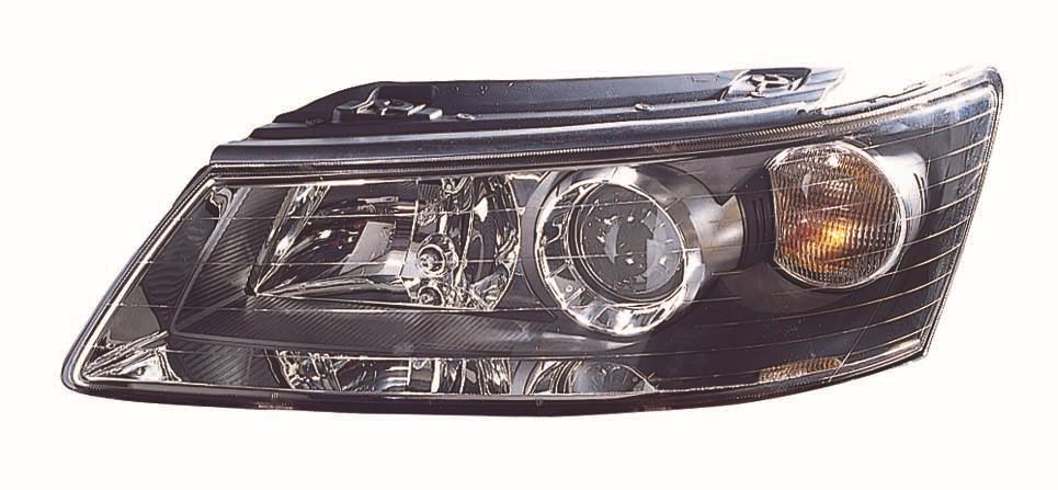 Hyundai Sonata Saloon 2005-2008 Headlight Headlamp Passenger Side N/S