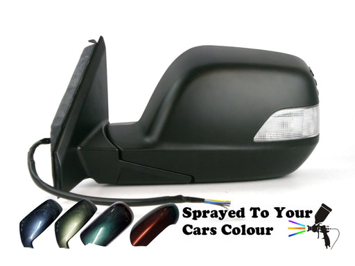 Honda CR-V Mk3 11/06-3/2013 Electric Wing Mirror Indicator Passengers Painted Sprayed