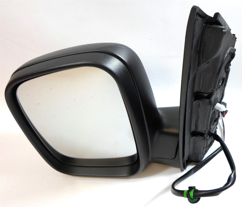 VW Caddy Mk3 3/2004-2010 Electric Wing Mirror Heated Black Passenger Side N/S