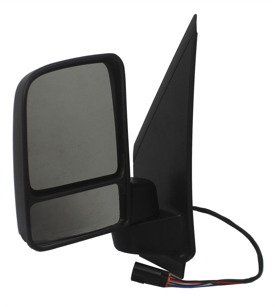 Ford Transit Connect 02-9/09 Twin Glass Wing Mirror Electric Black Passengers