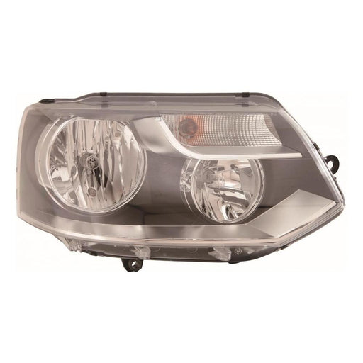 VW Transporter T5 Van 1/2010-2015 Twin Reflector Headlight Drivers Side O/S