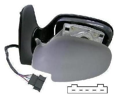 Seat Alhambra Mk.1 1996-2000 Electric Wing Mirror Primed Passenger Side N/S