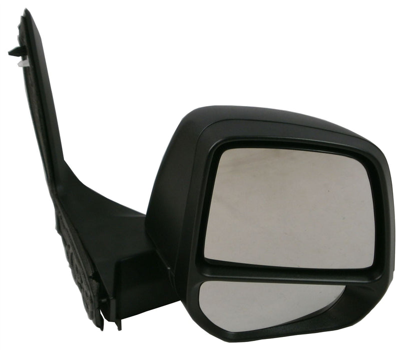 Ford Transit Connect Mk.2 10/2013+ Twin Glass Wing Mirror Black Drivers Side O/S