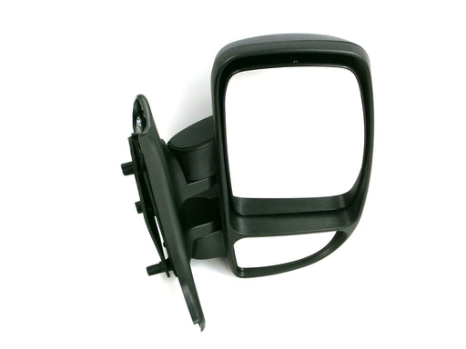 Renault Master Mk.2 10/2003-2010 Short Arm Wing Mirror Black Drivers Side O/S