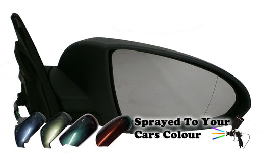 Nissan Primera Mk.4 3/2002-2006 Electric Wing Mirror Drivers Side O/S Painted Sprayed