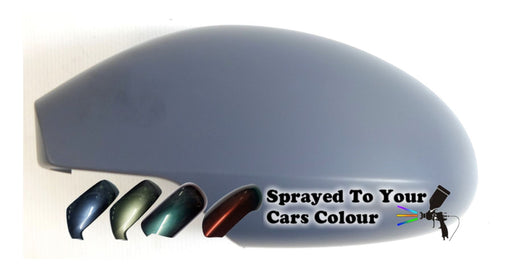 Seat Toledo Mk.2 8/2003-3/2005 Wing Mirror Cover Passenger Side N/S Painted Sprayed