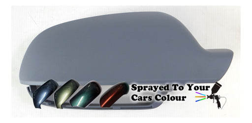 Audi A4 Mk.3 (Excl. S4 & RS4) 9/2010-6/2016 Wing Mirror Cover Drivers Side O/S Painted Sprayed