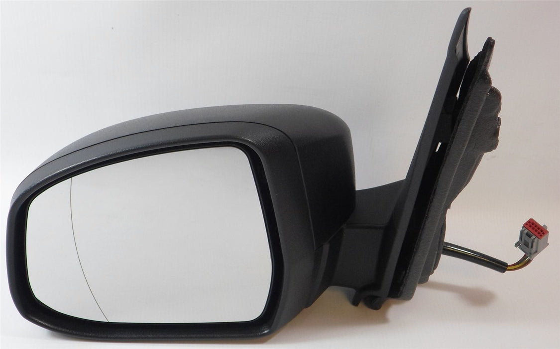 Ford Focus 3/08-6/11 Electric Wing Mirror Indicator Polished Black Passengers