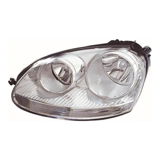 Volkswagen Jetta Mk2 Saloon 2006-9/2011 Headlight Headlamp Passenger Side N/S