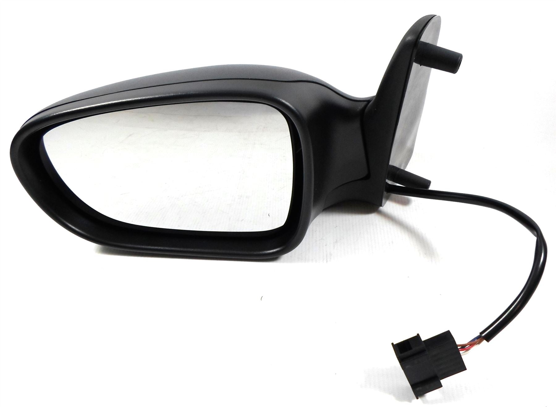 LTI TX4 2006-2010 Electric Wing Mirror Heated Black Textured Passenger Side N/S