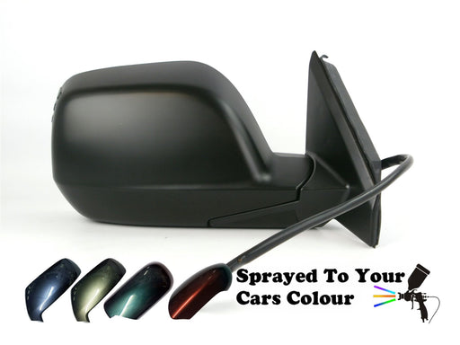 Honda CR-V 11/2006-3/2013 Electric Wing Mirror Power Folding Driver Side Painted Sprayed