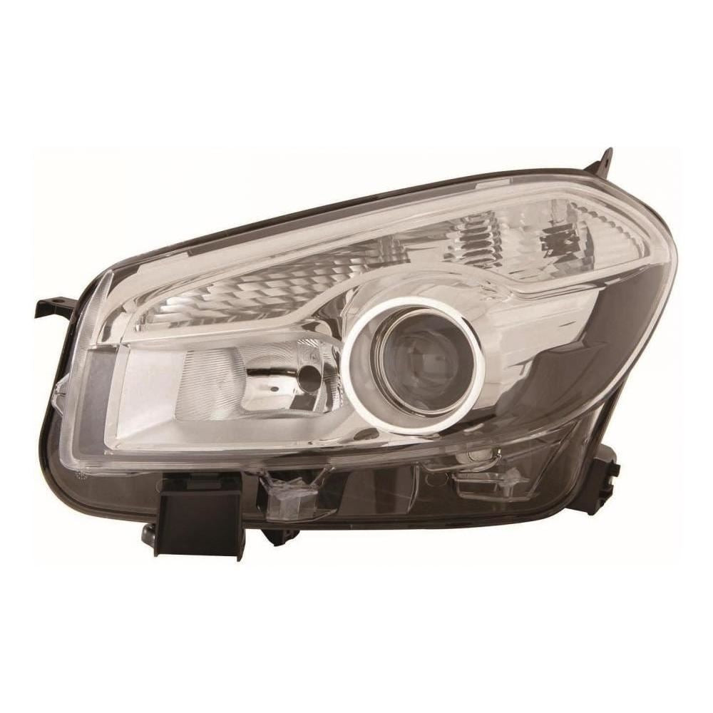 Nissan Qashqai+2 J10 SUV 4/2010-6/2014 Headlight Headlamp Passenger Side N/S