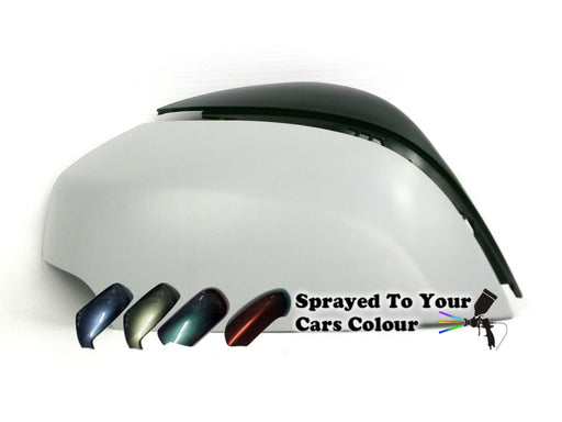 Renault Scenic Mk.3 (Incl. Grand & XMOD) 6/2009-2/2017 Wing Mirror Cover Drivers Side O/S Painted Sprayed