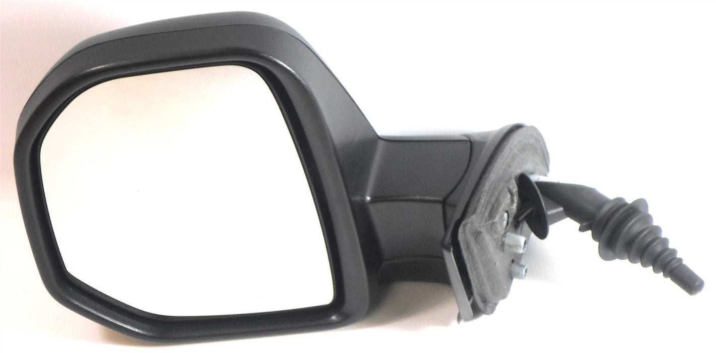 Peugeot Partner Mk.2 7/2008-4/2012 Cable Wing Mirror Black Passenger Side N/S