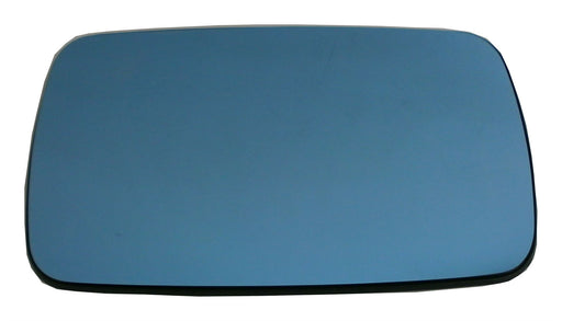 BMW 5 Series (E34) 1991-2000 Heated Flat Blue Tinted Mirror Glass Drivers Side O/S